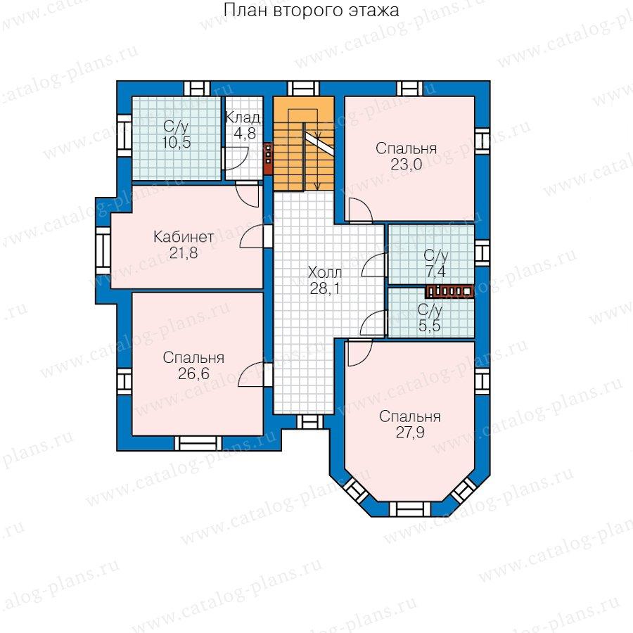 План 2-этажа проекта 48-31AL