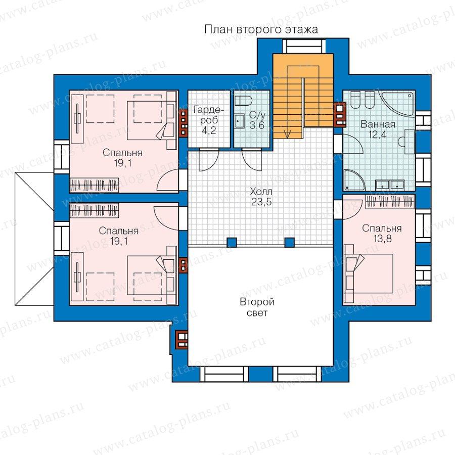 План 2-этажа проекта 40-44GL