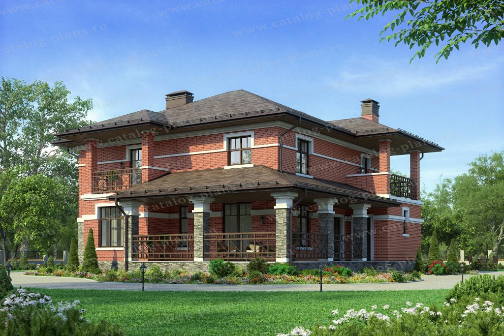 Проект кирпичного дома 40-55l каталог проекты коттеджей.