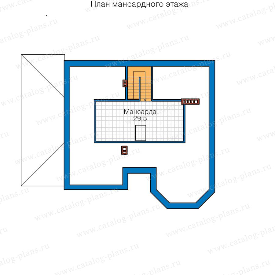 План 3-этажа проекта 40-11Q