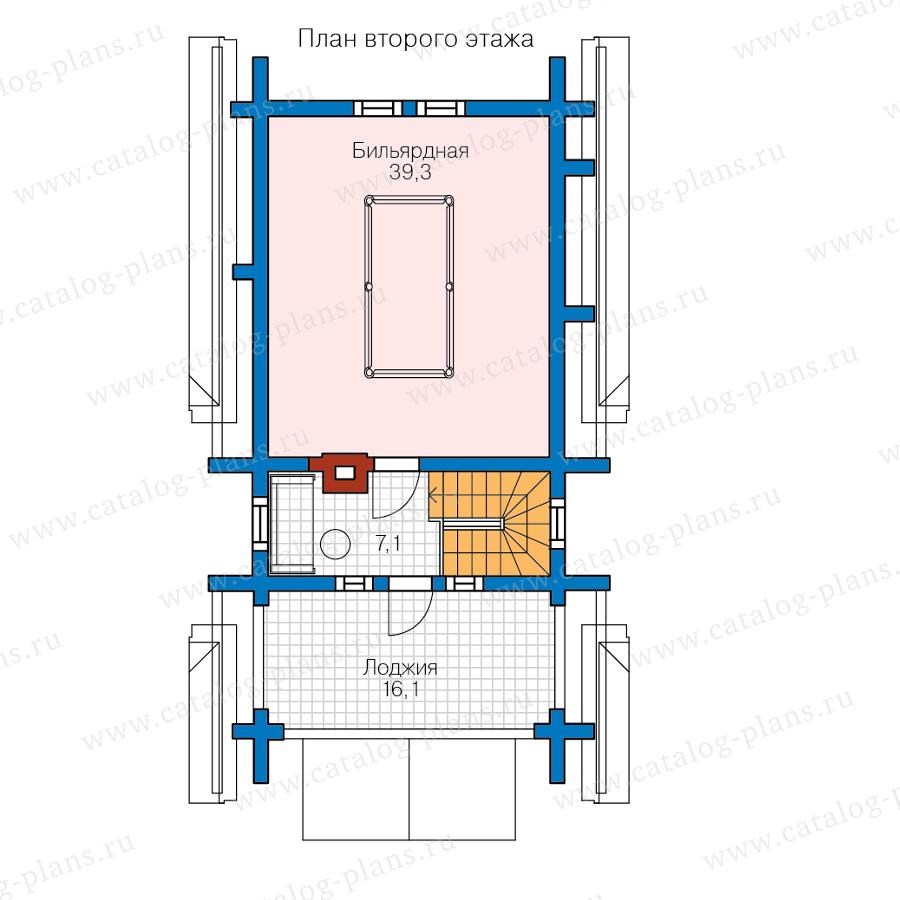План 2-этажа проекта 13-83