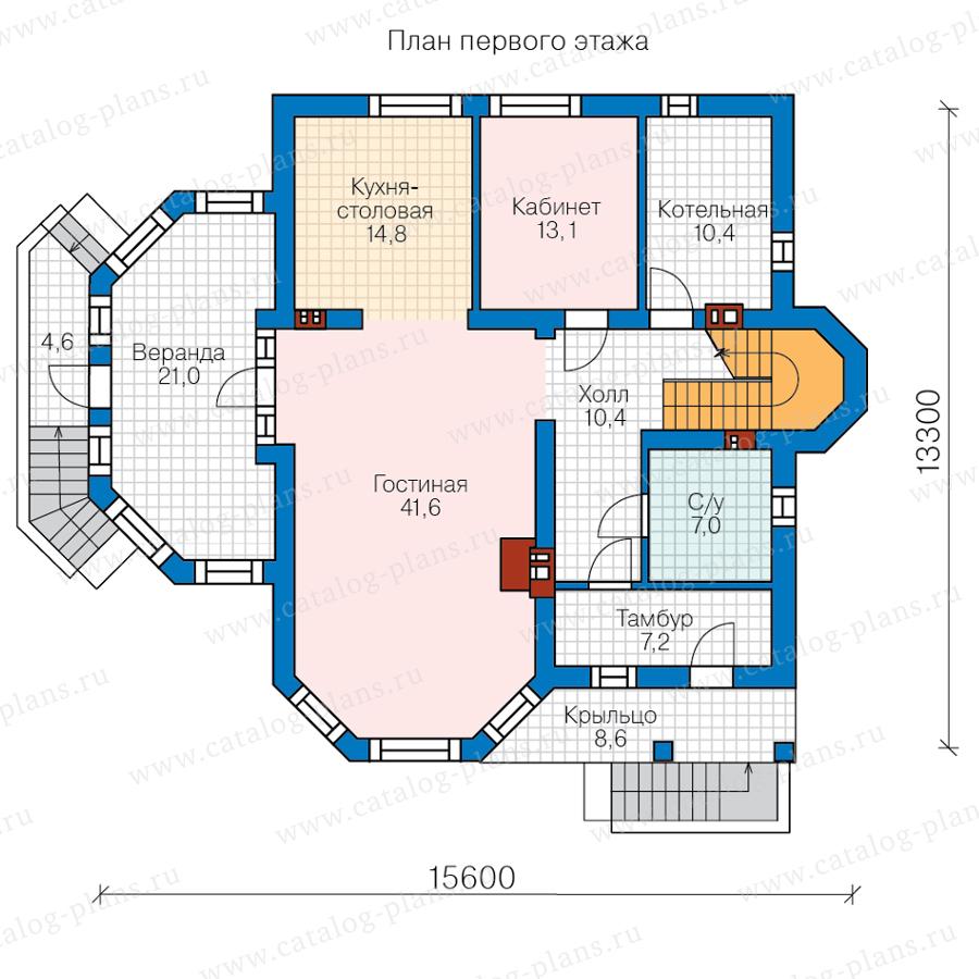 План 1-этажа проекта 62-09A