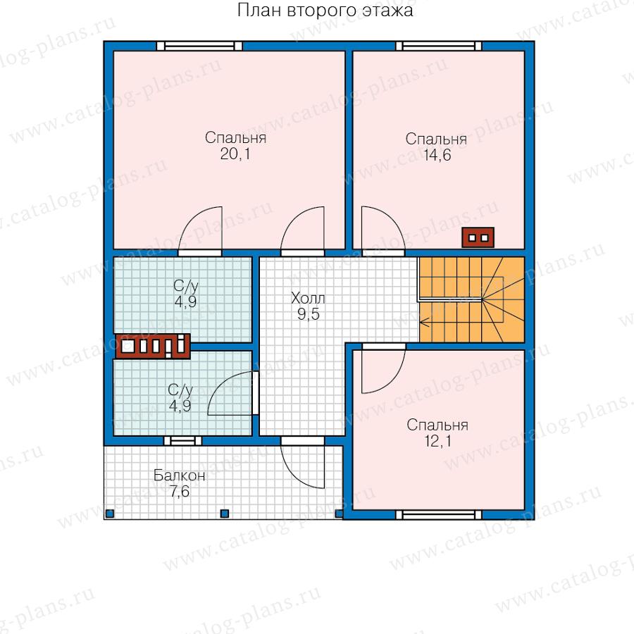 План 2-этажа проекта 13-94
