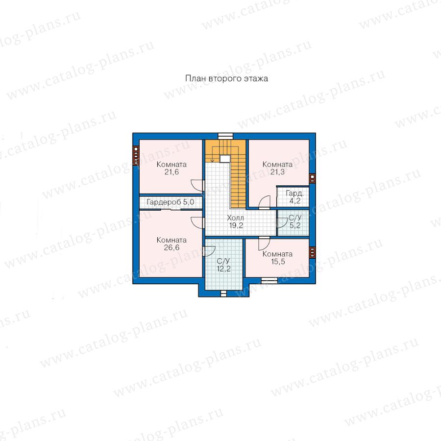 План 2-этажа проекта 45-19A
