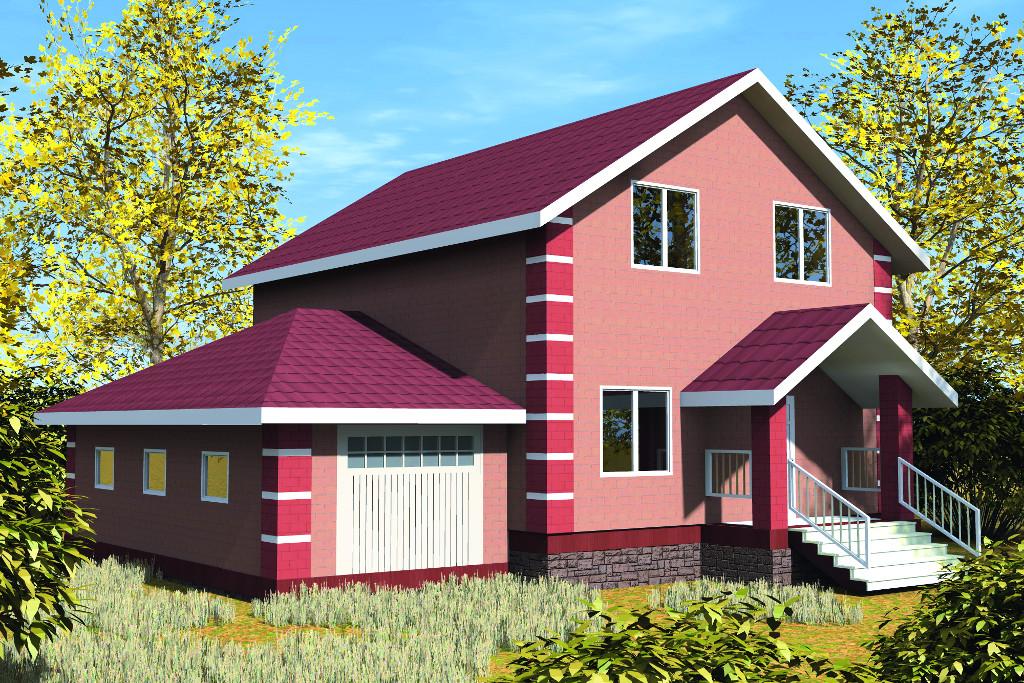 Проект жилой дом #28-10 материал - , стиль