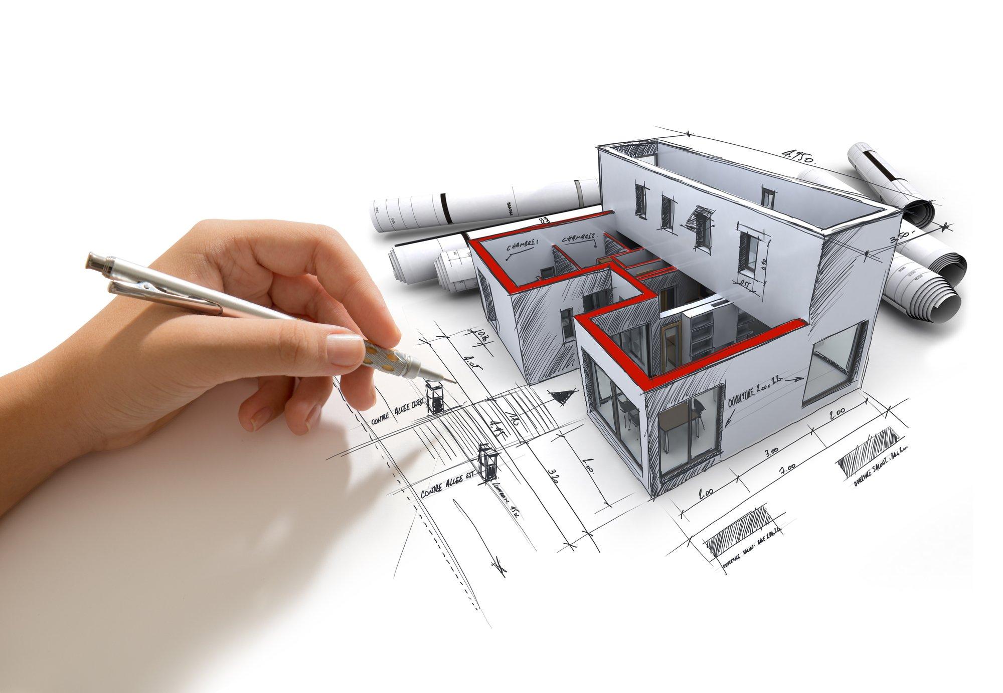 Как составляют индивидуальный проект дома