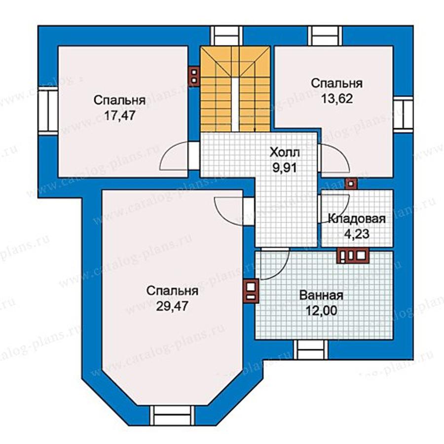 2этаж. План проекта №40-05L