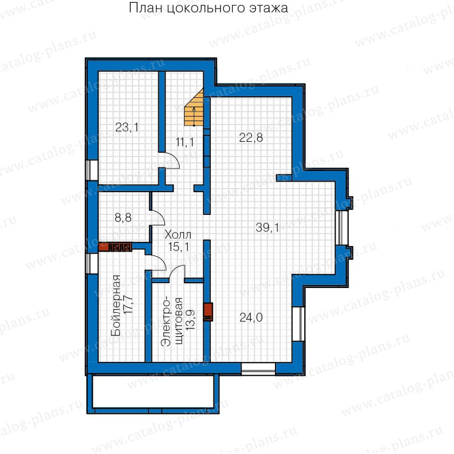 1этаж. План проекта №40-30AG
