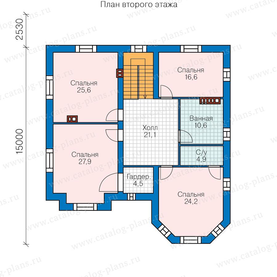 2этаж. План проекта №40-53G