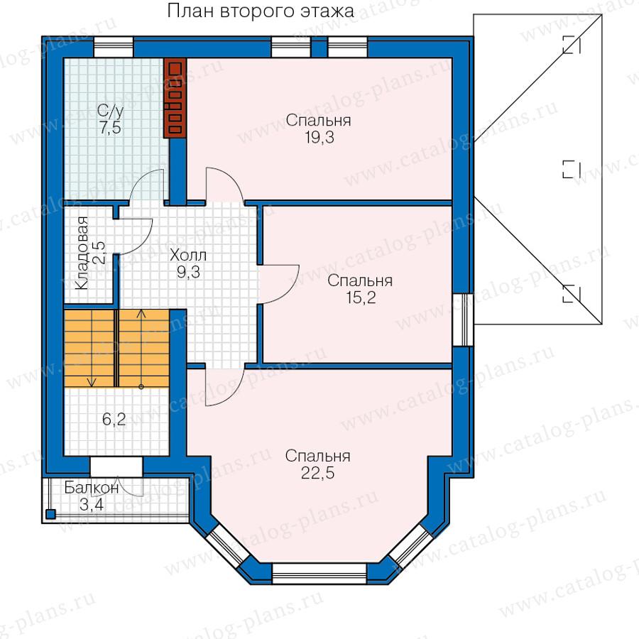 2этаж. План проекта №40-69