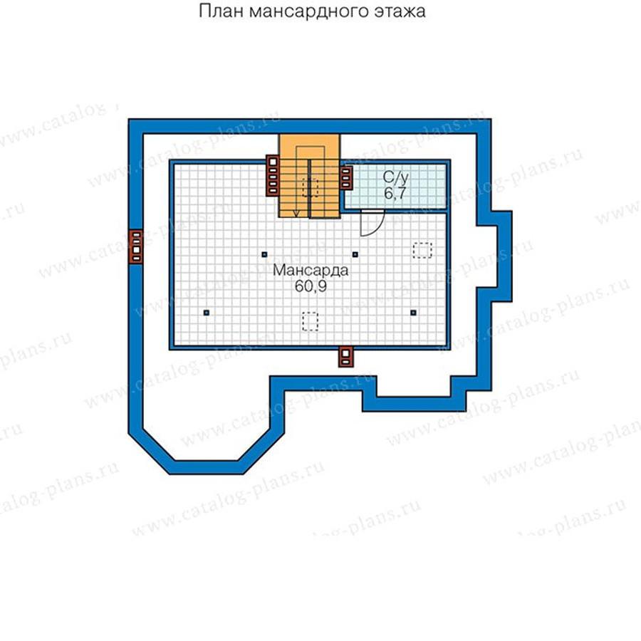 3этаж. План проекта №48-29AG