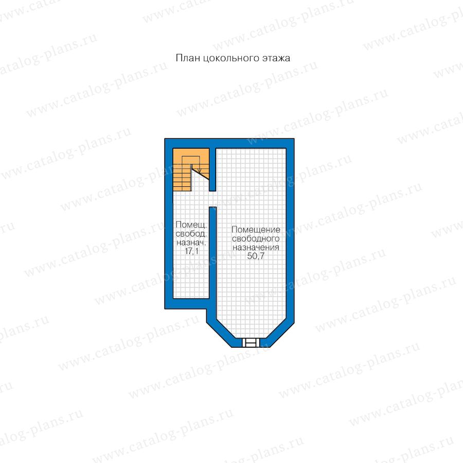 1этаж. План проекта №48-29FL