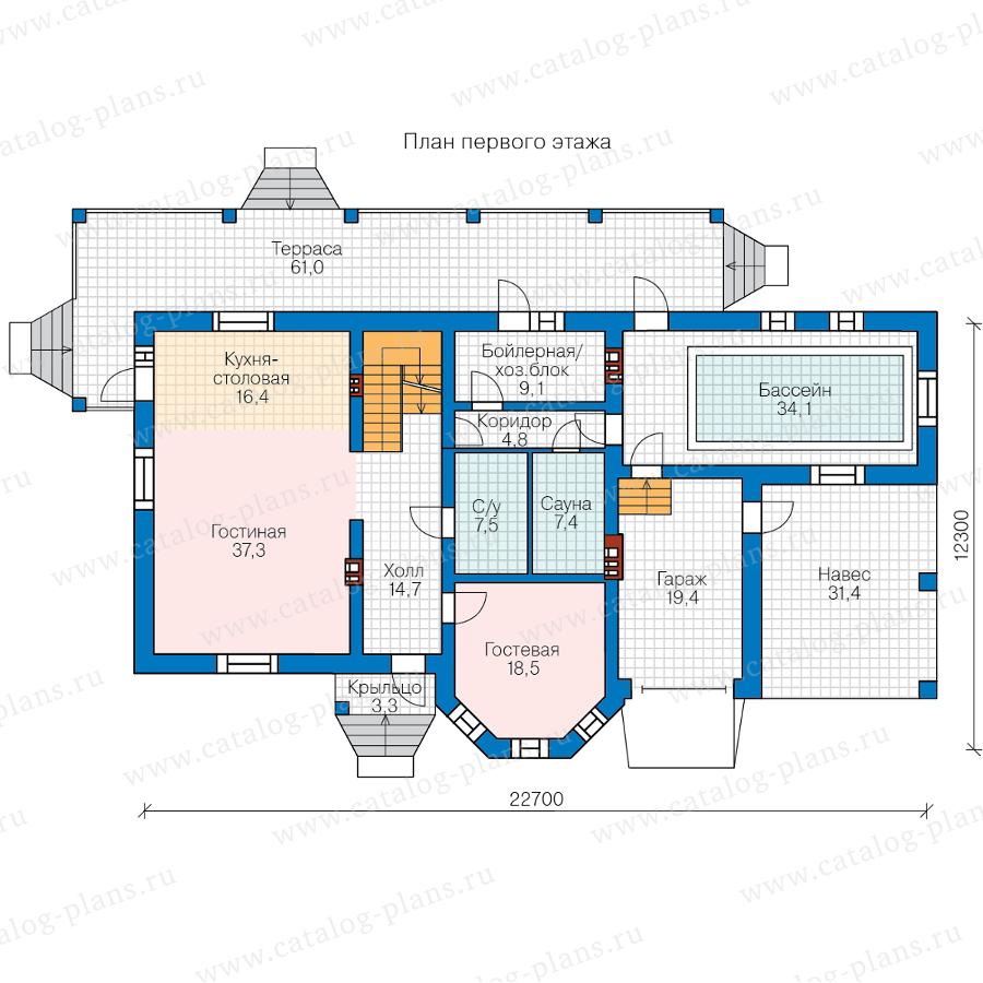 2этаж. План проекта №48-29FL