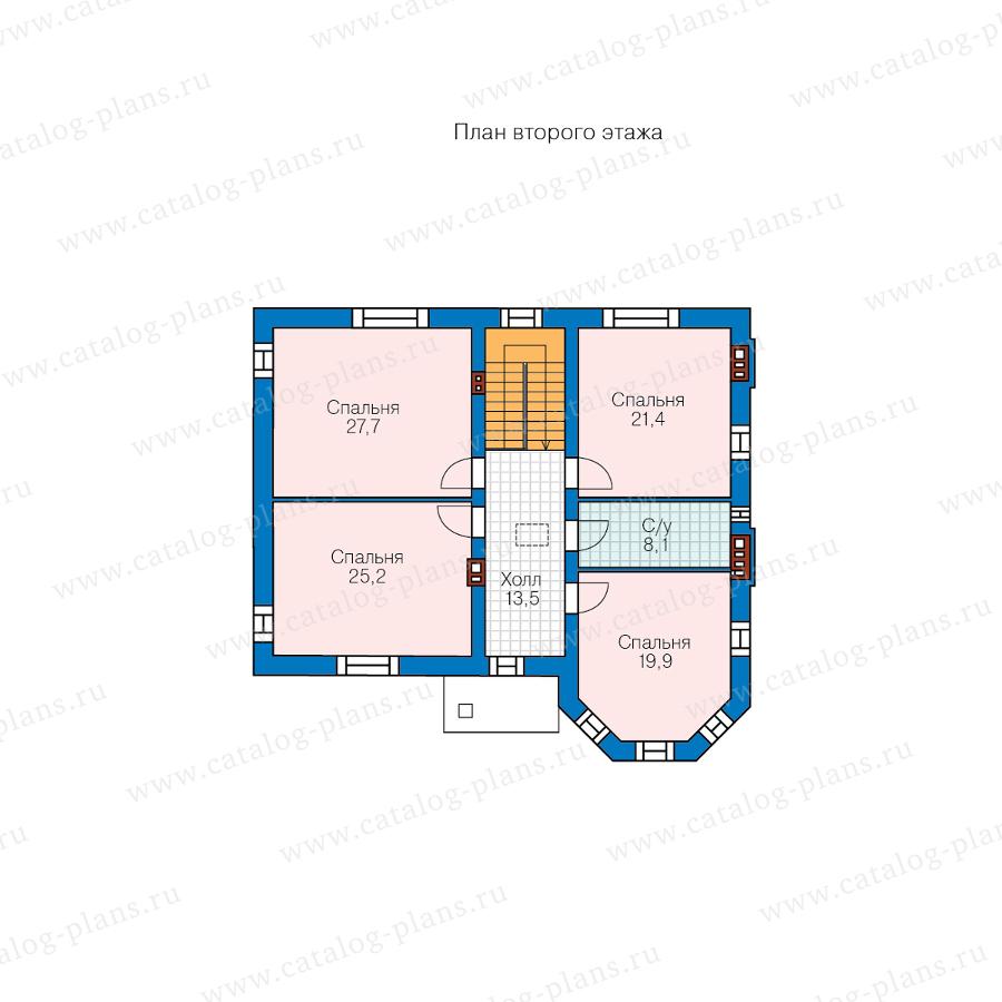 3этаж. План проекта №48-29FL