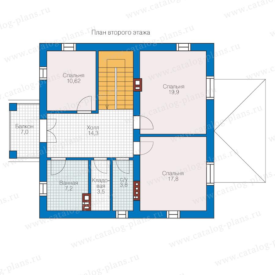 2этаж. План проекта №57-05KL