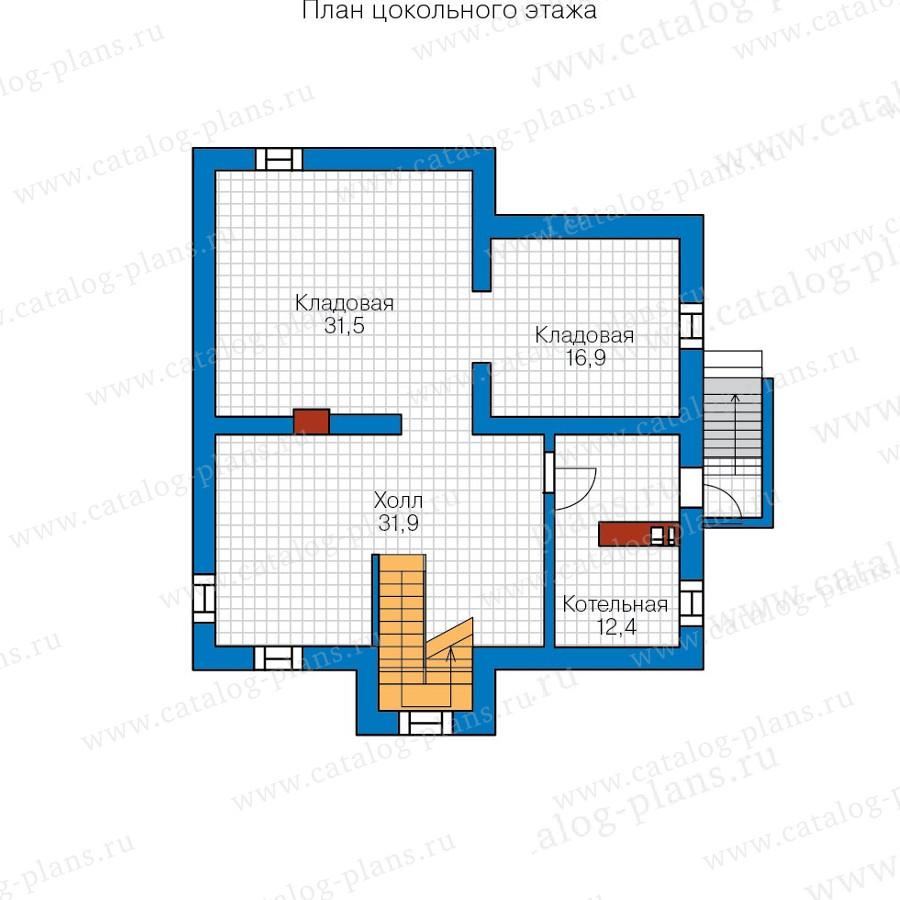 1этаж. План проекта №57-66